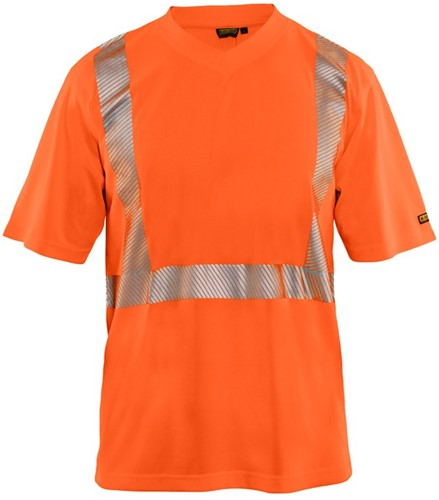 Blaklader 33861013 T-shirt High Vis-Oranje-XS