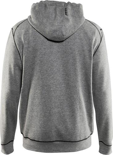 Blaklader 33981157 Hooded sweatshirt met rits-2