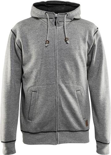 Blaklader 33981157 Hooded sweatshirt met rits-1