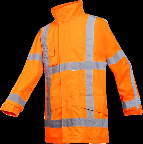 Sioen Boorne Signalisatie Regenjas (RWS)-S-Fluo Oranje