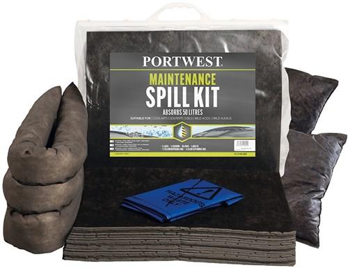 Portwest SM31 Spill Maintenance Kit 50L  (3 stuks)