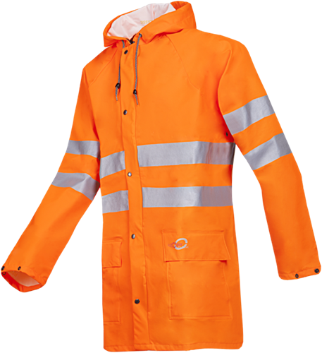 Sioen Unzen Signalisatie Regenjas-S-Fluo Oranje