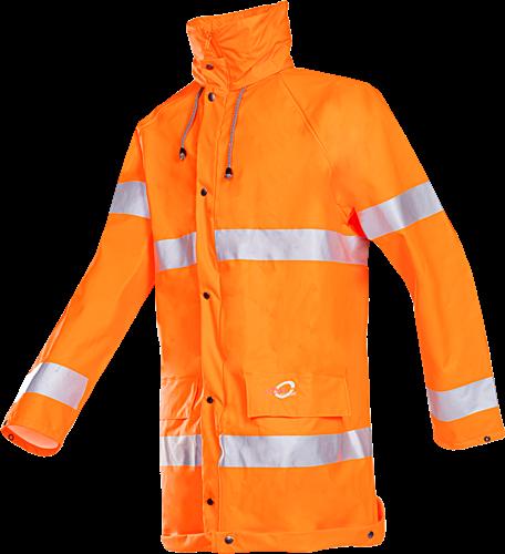 Sioen Lassen Signalisatie Regenjas-S-Fluo Oranje