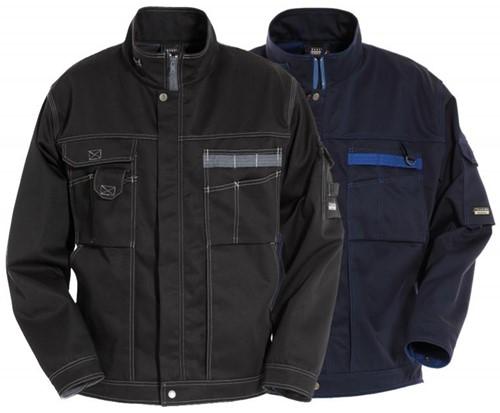 Tranemo Werkjas met fleece 383250-Zwart-XS