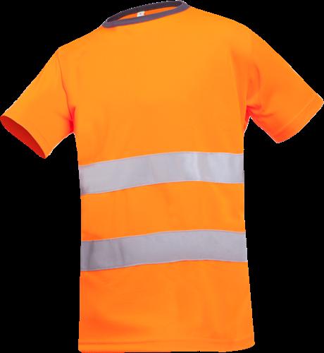 Sioen Cartura Signalisatie T-shirt-S-Fluo Oranje
