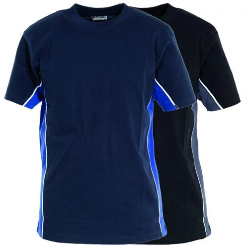 Tranemo T-Shirt 387011-Marine/Koningsblauw-XS