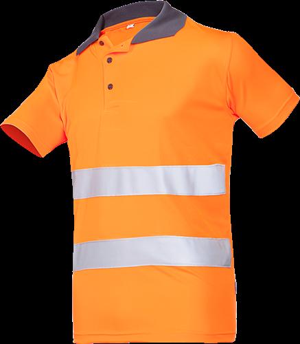Sioen Irola Signalisatie Polo-S-Fluo Oranje