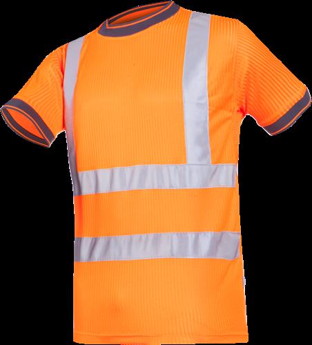 Sioen Longa Signalisatie T-shirt-S-Fluo Oranje