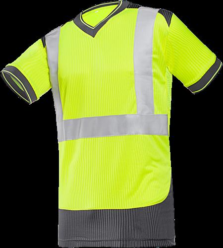 Sioen Rupa Signalisatie T-shirt-S-Fluo Geel/Grijs