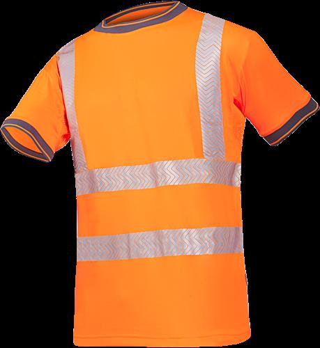 Sioen Rovito Signalisatie T-shirt-S-Fluo Oranje