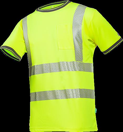 Sioen Rotella Signalisatie T-shirt-S-Fluo Geel