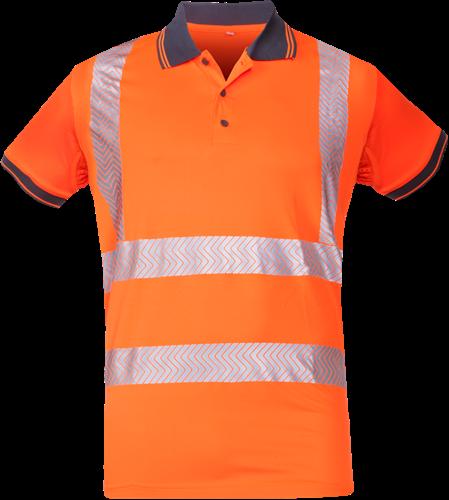 Sioen Tiola Signalisatie Polo-S-Fluo Oranje-1