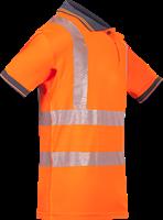 Sioen Tiola Signalisatie Polo-S-Fluo Oranje-3