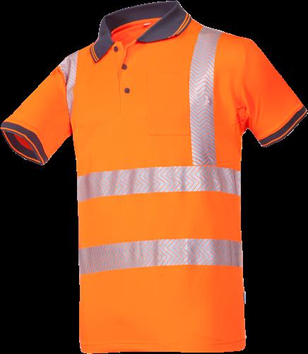 Sioen Rotto Signalisatie Polo-S-Fluo Oranje