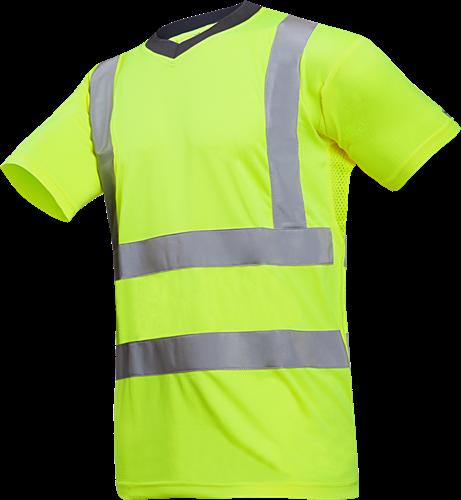 Sioen Oria Signalisatie T-shirt-S-Fluo Geel