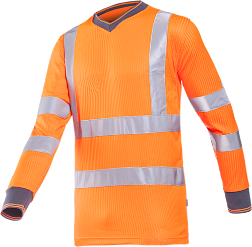 Sioen Bresso Signalisatie T-shirt-S-Fluo Oranje
