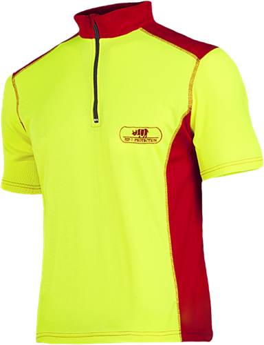 SIP T-shirt 397A Hi-Vis-Geel-S