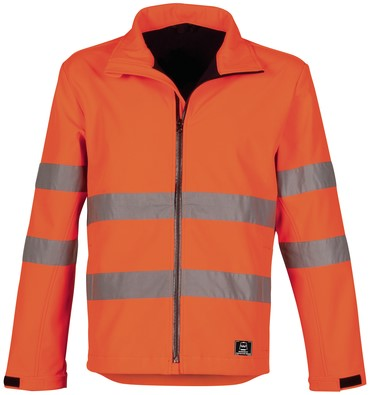 Havep High Visibility Softshell-M-Fluo Oranje