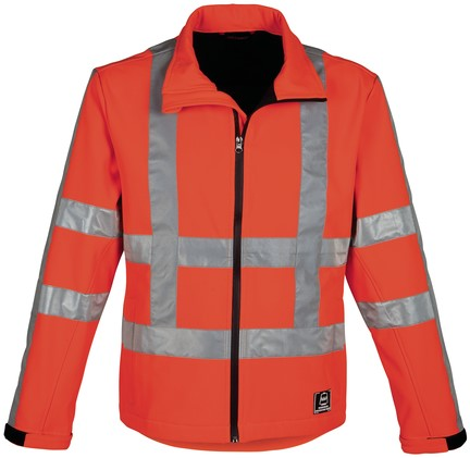 Havep High Visibility Softshell-S-Fluo Oranje