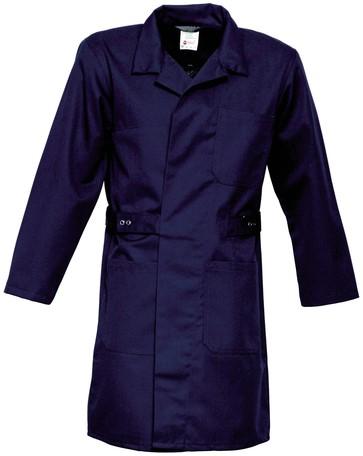 Havep Basic Lange jas/Stofjas-Marineblauw-H-46