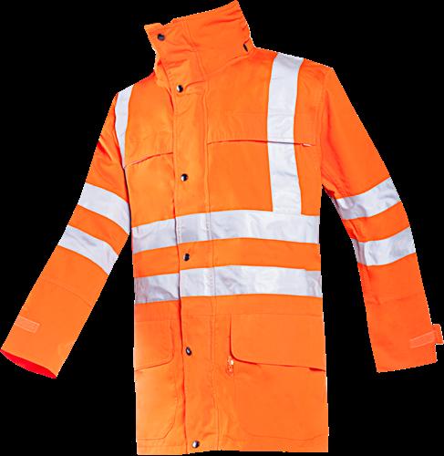 Sioen Preston Signalisatie Regenjas-S-Fluo Oranje