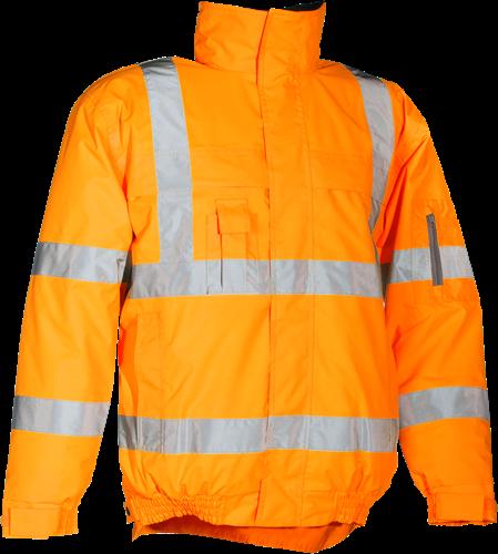 Sioen Hobson Signalisatie Winter Blouson-S-Fluo Oranje