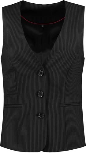 Tricorp CLW6001 Gilet Dames-36-Zwarte-strepen