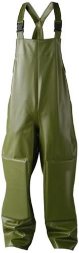 Dolfing 42301 Classic Regen Tuinbroek met kniestukken - Groen