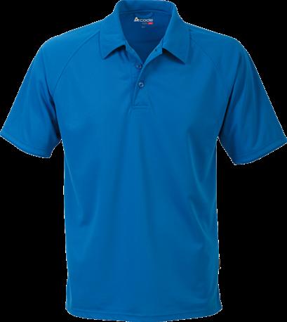 Acode Heren CoolPass poloshirt-S-Licht turquoise