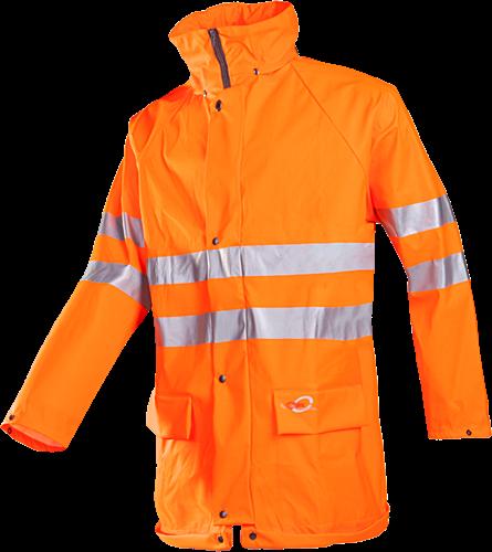 Sioen Kassel Signalisatie Regenjas-S-Fluo Oranje-1