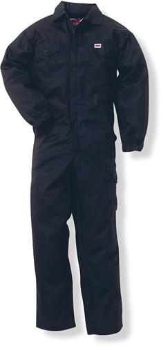 Jobman 42 Overall Katoen  T/C, zipper  zwart