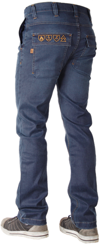CrossHatch Jeans Trucker-AFR-32-34