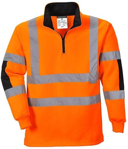 Portwest B308 Xenon Rugby Sweatshirt