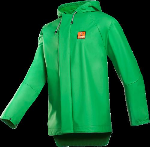Sioen Flavik Anti-spray Regenjas-S-Licht groen