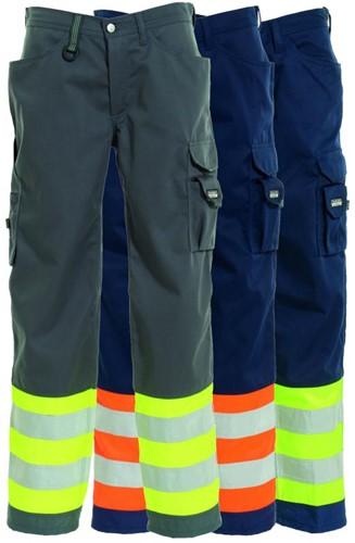 Tranemo Dames Werkbroek Hi-Vis 482844-36-Oranje/marine