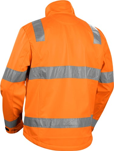 Blaklader 48382517 Jas Softshell High Vis-Oranje-XS-2