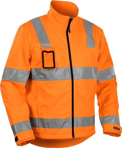 Blaklader 48382517 Jas Softshell High Vis-Oranje-XS-1