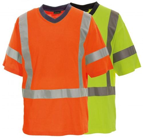 Tranemo T-Shirt Hi-Vis 487211-Oranje-XS