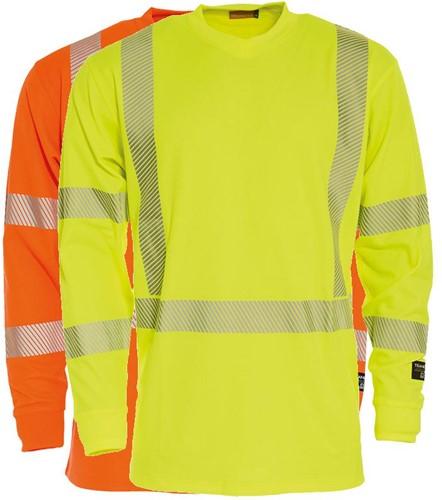 Tranemo T-Shirt Lange Mouw Hi-Vis 487411