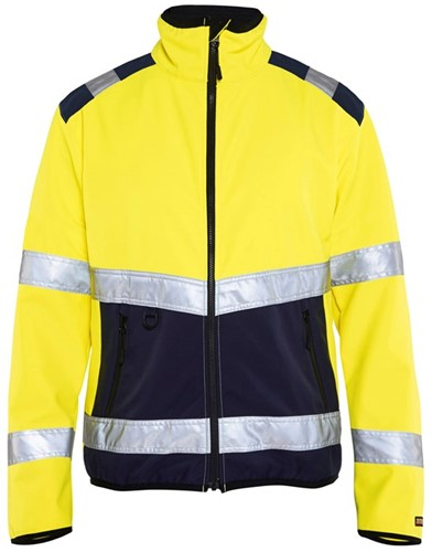 Blaklader 48772516 Softshell jack High Vis