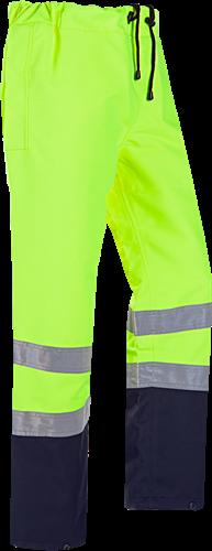 Sioen Lichfield Signalisatie Regenbroek-S-Fluo Geel/Marine
