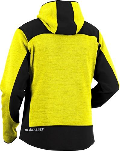 Blaklader 49302117 Gebreid vest met softshell-2