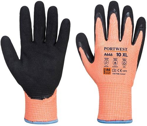 Portwest A646 Vis-Tex HR Cut Winter Glove