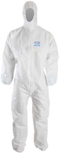 Chemdefend 100 Disposable Overall - Wit