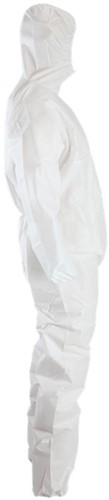 Chemdefend 110 Disposable overall Wit-S