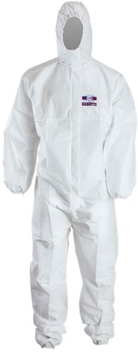 Chemdefend 250 Disposable Overall - Wit-1