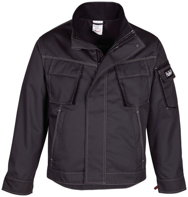 Havep Titan Korte jas/Vest-Charcoal grey/zwart-H-46