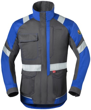 Havep 5safety Image Korte jas/Vest-H46-Charcoal/korenblauw