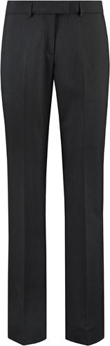 Tricorp CLT6001 Pantalon Dames-36-Zwarte-strepen