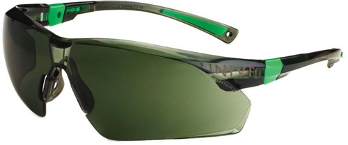 Dynamic Safety Bril 506 zwrt/groen Lens groen